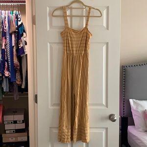 Women's Mustard Jumpsuit